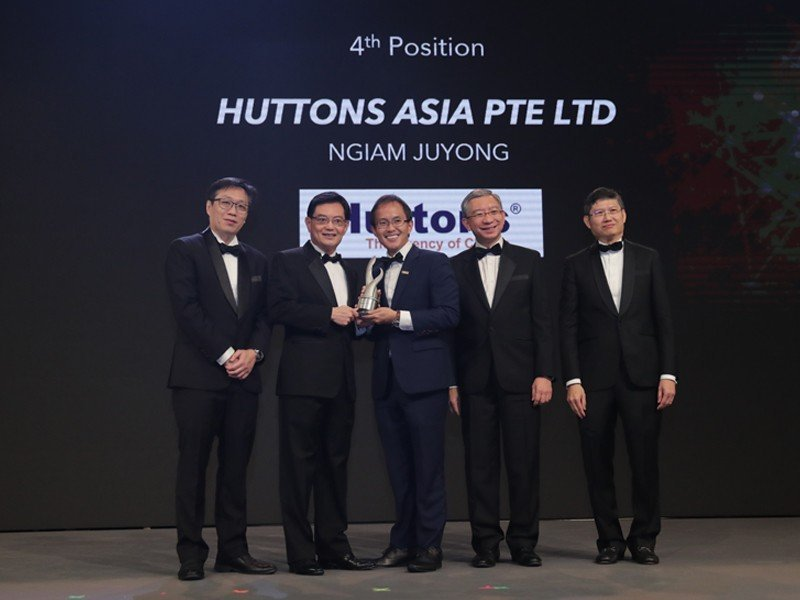 Huttons is Top 5 Winner of the 2019 Enterprise 50 Awards!
